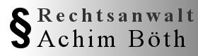 Rechtsanwalt Achim Böth