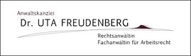 Rechtsanwältin Dr. Uta Freudenberg