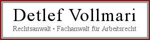 Rechtsanwalt Detlef Vollmari