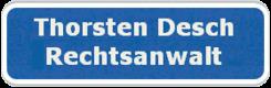 Rechtsanwalt Thorsten Desch
