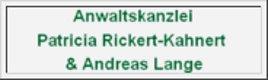 Rechtsanwältin Patricia Rickert-Kahnert