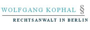 Rechtsanwalt Wolfgang Kophal
