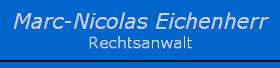 Rechtsanwalt Marc Eichenherr