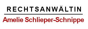 Rechtsanwältin Amelie Schlieper-Schnippe