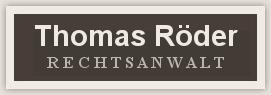 Rechtsanwalt Thomas Röder